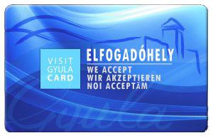 Visit Gyula card